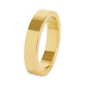 Ideality Verlovingsring 14 krt Geelgoud 4 mm