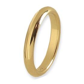Infinity Verlovingsring 14 krt Geelgoud 3 mm