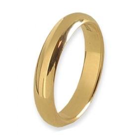 Infinity Verlovingsring 14 krt Geelgoud 4 mm